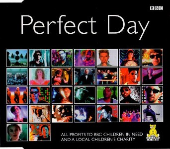 Perfect day (3 vers.) - LOU REED \ DAVID BOWIE \ ELTON JOHN \ various