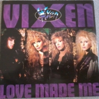 Love made me\Give it away - VIXEN