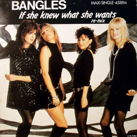 If she knew what she wants (ext.rmx) - BANGLES