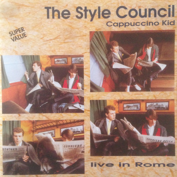 Cappuccino kid-Live in Rome - STYLE COUNCIL