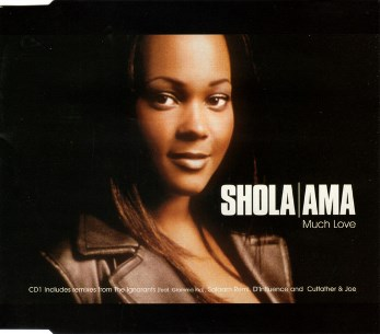 Much love CD1 (6 vers.) - SHOLA AMA