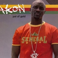 Pot of gold (1 track) - AKON