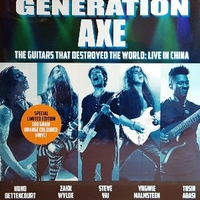 The guitars that destroyed the world: live in China - GENERATION AXE