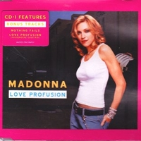 Love profusion CD1 (3 tracks) - MADONNA