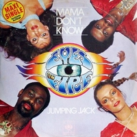 Mama don't know\Jumping Jack - EYES ON FIRE