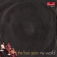 My world \ On time - BEE GEES