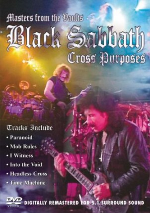Cross purposes- Masters from the vaults - BLACK SABBATH
