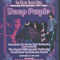 Concerto for group and orchestra- 24/09/1969 - DEEP PURPLE