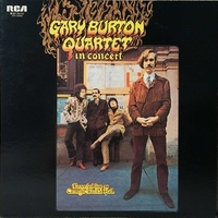 In concert - Recorded live at Carnegie recital Hall - GARY BURTON quartet