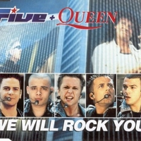 We will rock you (2 tracks+1 video track) - FIVE \ QUEEN