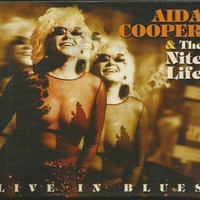 Live in blues - AIDA COOPER & the nite life