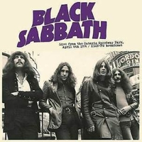 Live from the Ontario Speedway park, April 6th 1974 - KLOS-FM broadcast - BLACK SABBATH