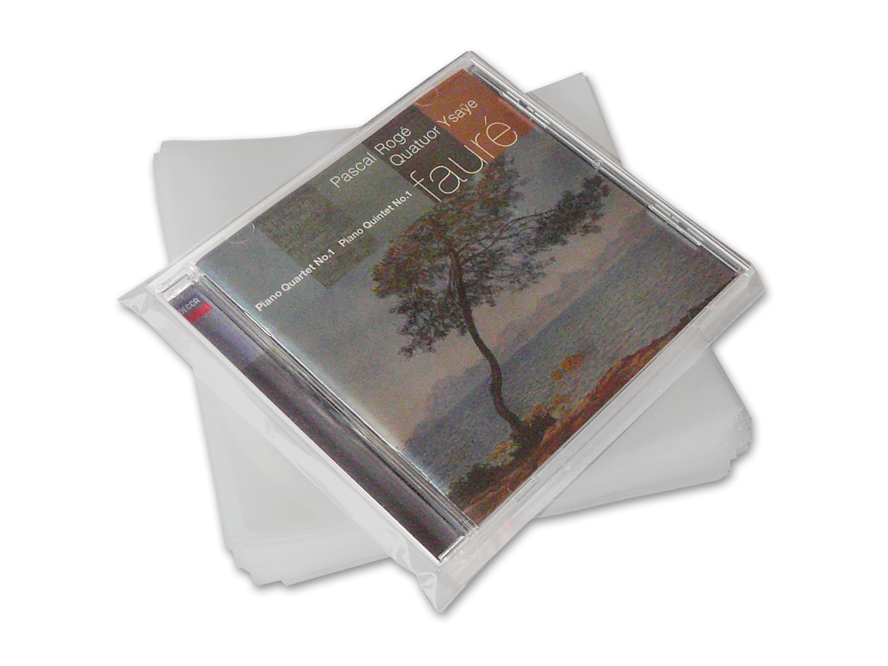 Buste per CD in polietilene