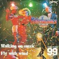 Walking on music \ Fly with wind - PETER JACQUES BAND