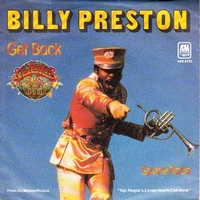 Get back \ Space race - BILLY PRESTON