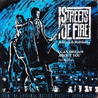 I can dream about you \ Streets of fire - DAN HARTMAN