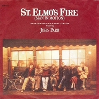 St.Elmo's fire (man in motion) \ Treat me like a animal - JOHN PARR