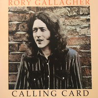 Calling card - RORY GALLAGHER