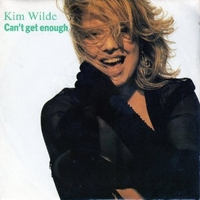 Can't get enough (of your love) \ Virtual world - KIM WILDE