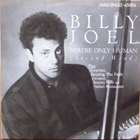 You're only human (4 tracks) - BILLY JOEL