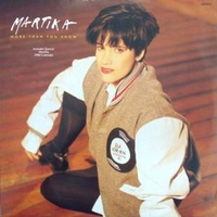 More than you know - MARTIKA