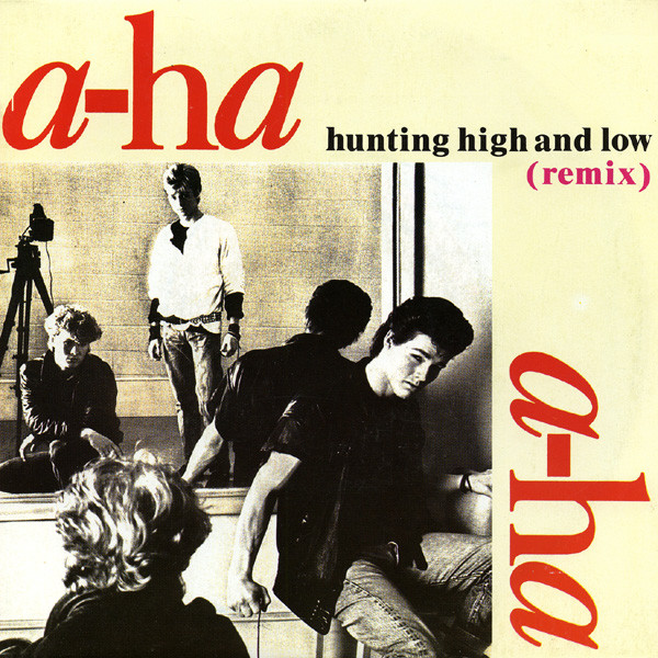 Hunting high and low (remix) / The blue sky (demo version) - A-HA