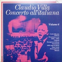 Concerto all'italiana volume 6 - CLAUDIO VILLA