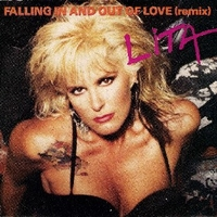 Falling in and out of love (remix) / Fatal passion - LITA FORD