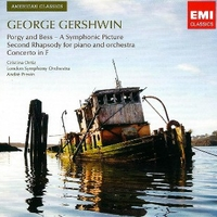 Porgy and Bess \ Second rhapsody for piano and orchestra \ Concerto in F - George GERSHWIN (André Previn)